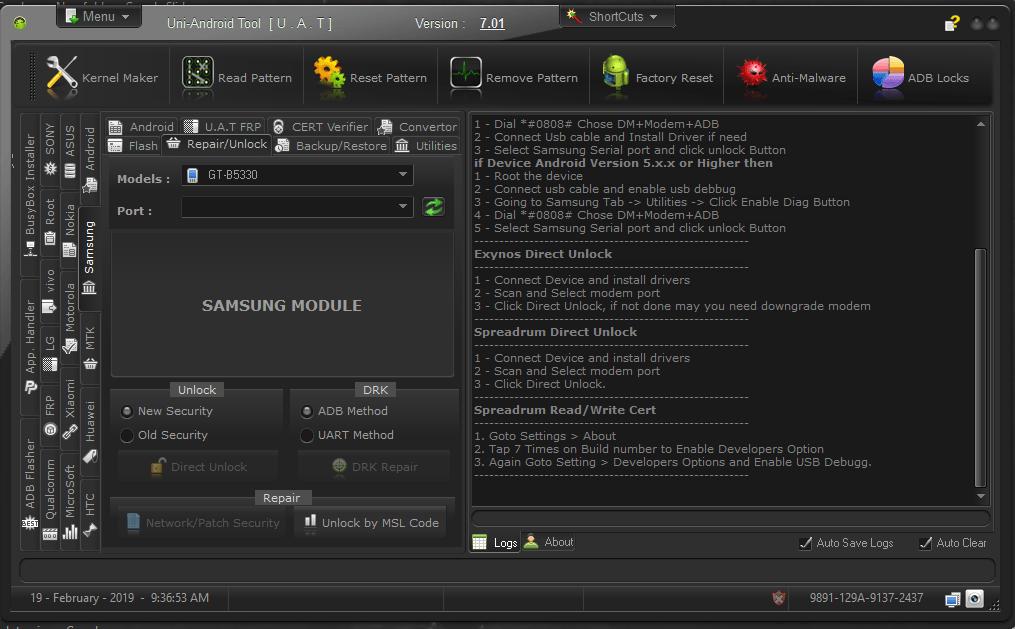 Driver samsung dm modem adb