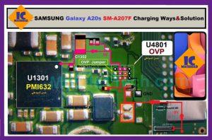 Samsung A20s A207F Charging Solution Jumper Problem Ways